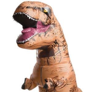 Ce costume gonflable de T-rex est t-il légitime d'être en vie ?