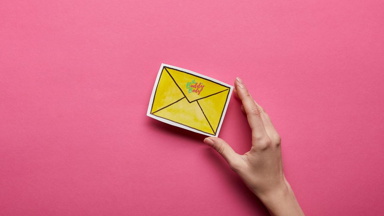 des messages qui font du bien, directement dans ta boîte de messagerie